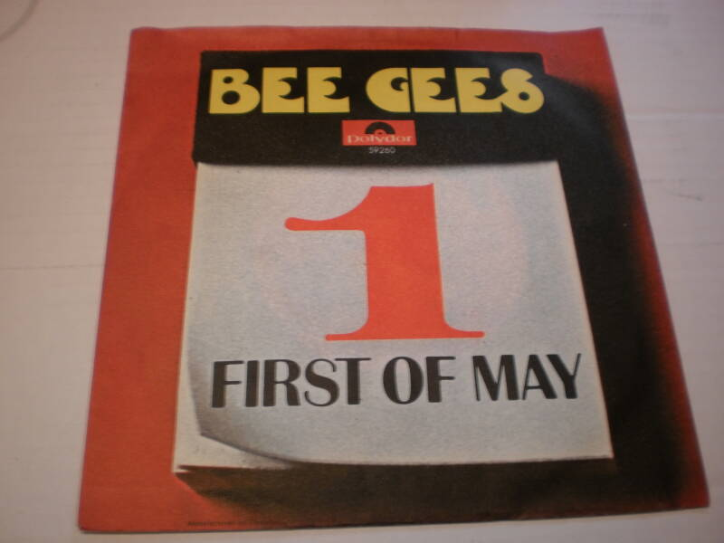 Single The Bee Gees - First of May