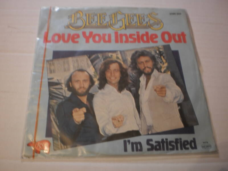 Single The Bee Gees - Love you inside out
