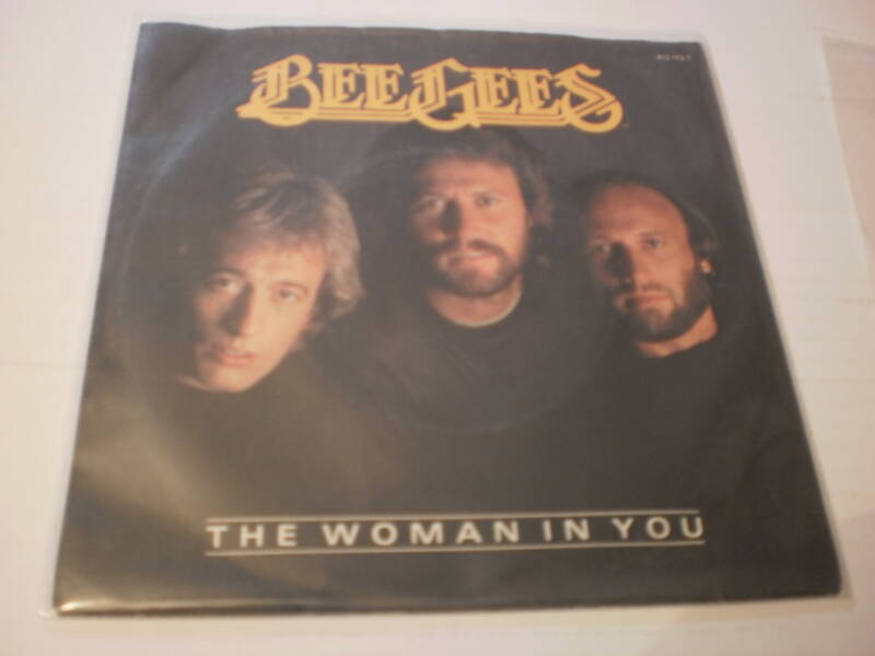 Single The Bee Gees - The woman in you