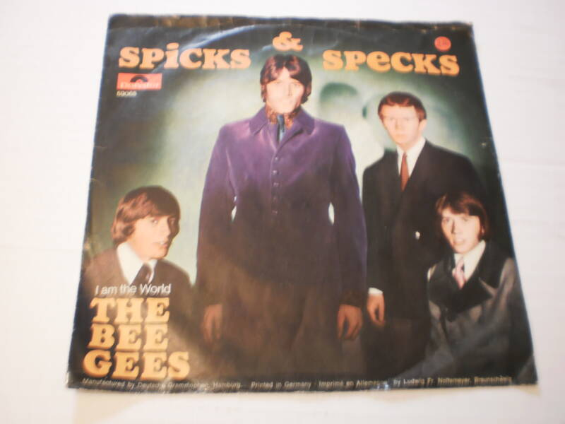 Single The Bee Gees - Spicks & Specks