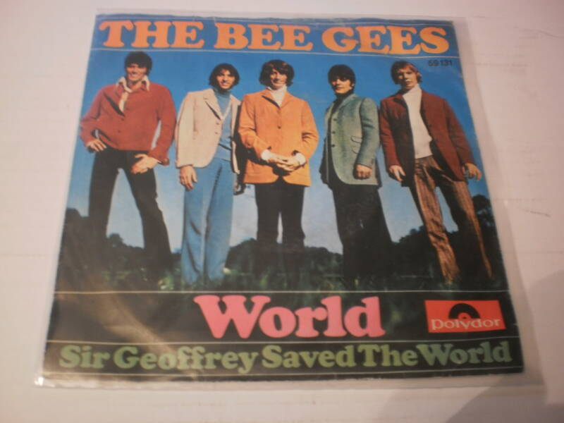 Single The Bee Gees - World