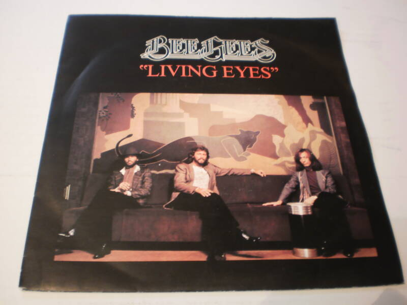 Single The Bee Gees - Living Eyes