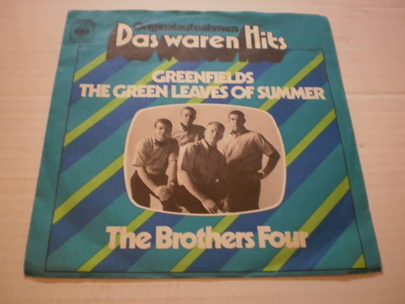 Single The Brothers Four - Greenfields