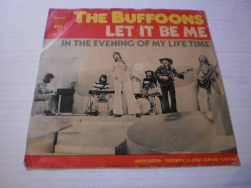 Single The Buffoons - Let it be me