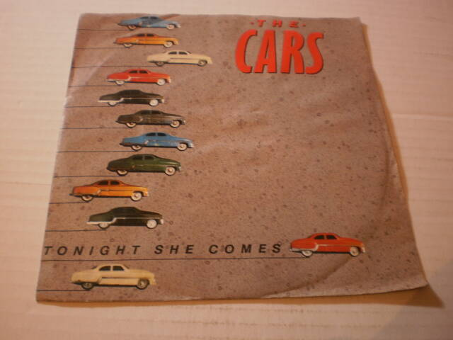Single The Cars - Tonight she comes