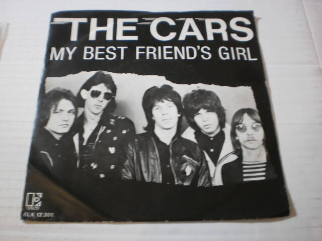 Single The Cars - My best friend's girl