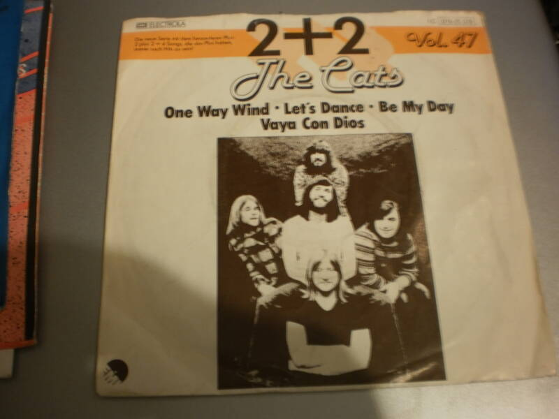 Single The Cats - One way wind EP