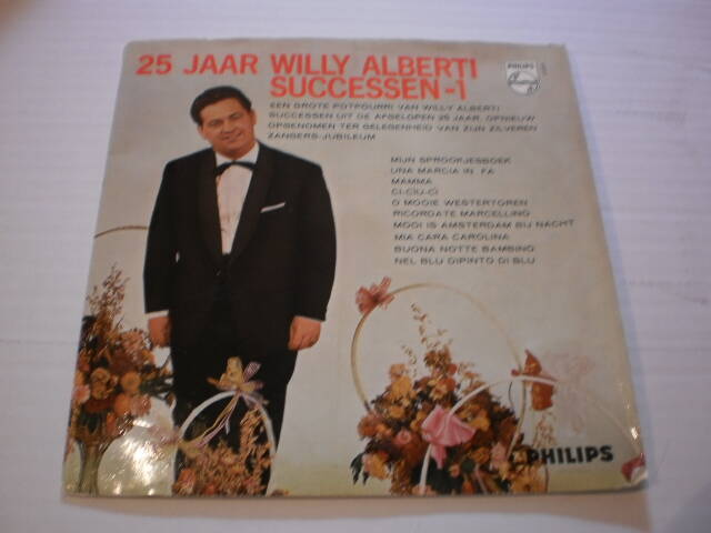 Single Willy Alberti - 25 jaar Successen