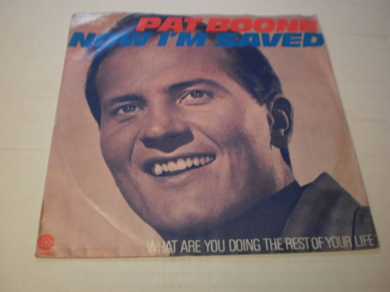 Single Pat Boone - Now I'm saved