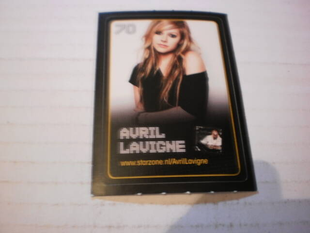 Sticker Avril Lavigne