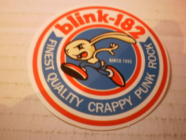 Sticker Blink 182