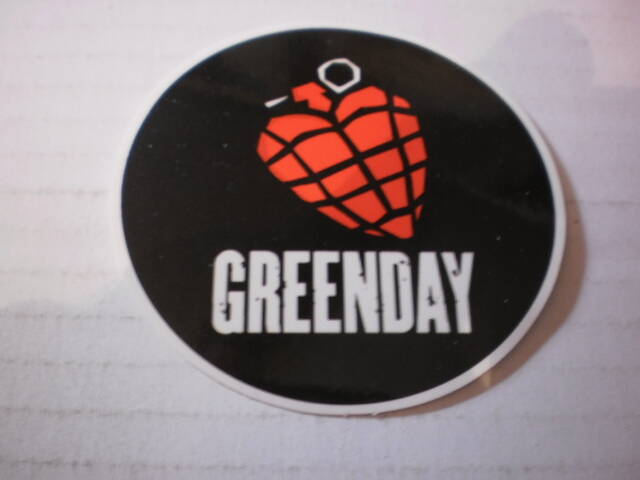 Sticker Greenday
