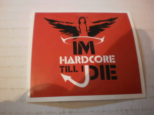 Sticker Hardcore