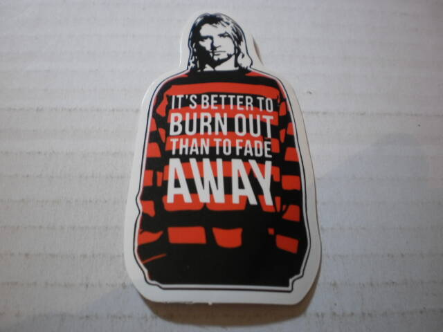 Sticker Kurt Cobain Nirvana