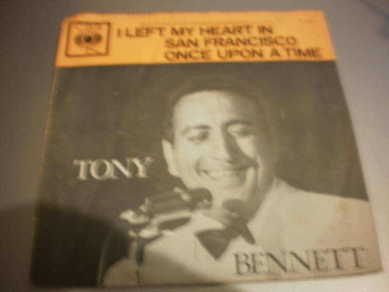 Single Tony Bennett - I left my heart in San Francisco
