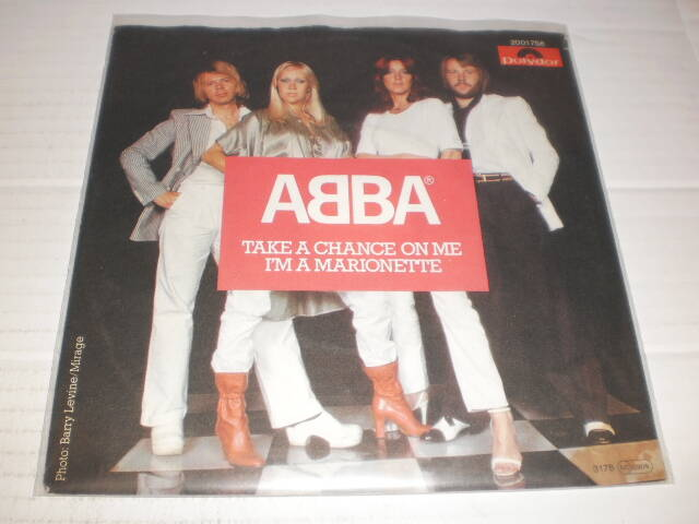 Single ABBA - Take a Chance on me