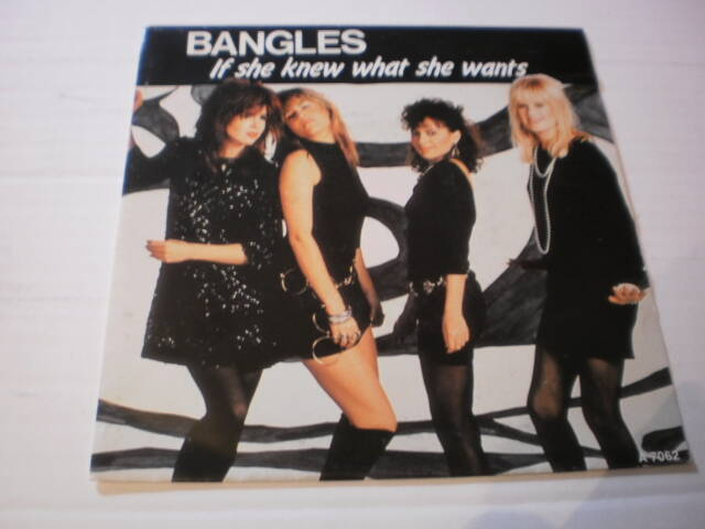 Single The Bangles - If she knew what she wants