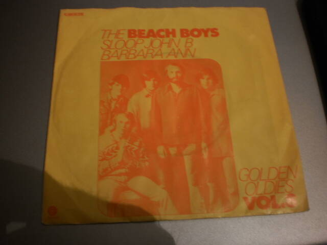 Single The Beach Boys - Sloop John B / Barbara Ann