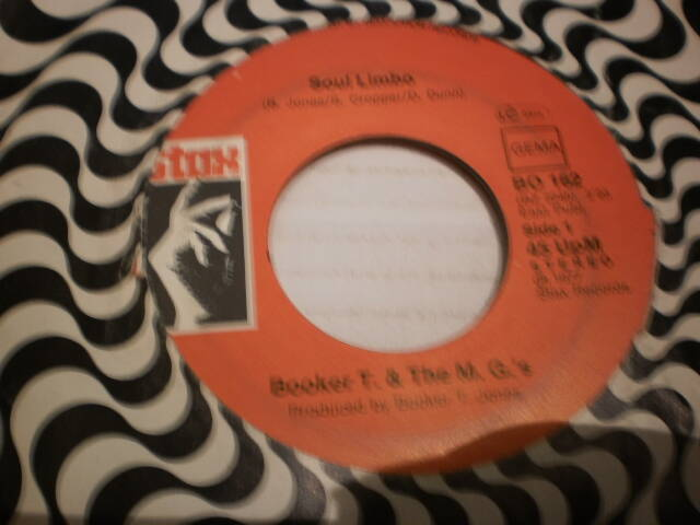 Single Booker T & the MG's - Soul Limbo
