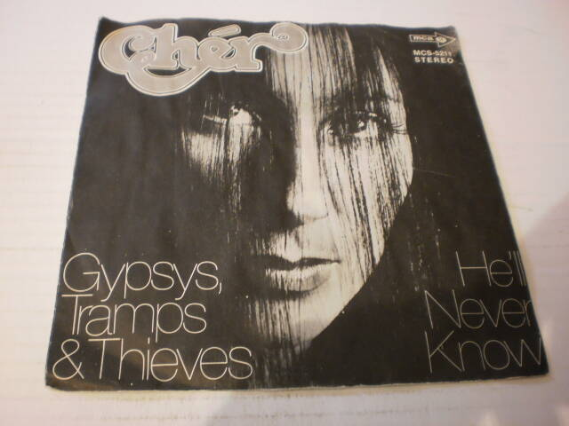 Single Cher - Gypsys , Tramps & Thieves