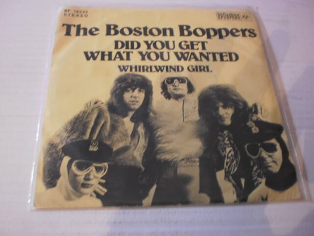 Single The Boston Boppers - Did you get what you wanted