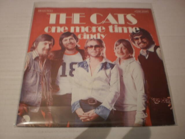Single The Cats - One more Time / Cindy