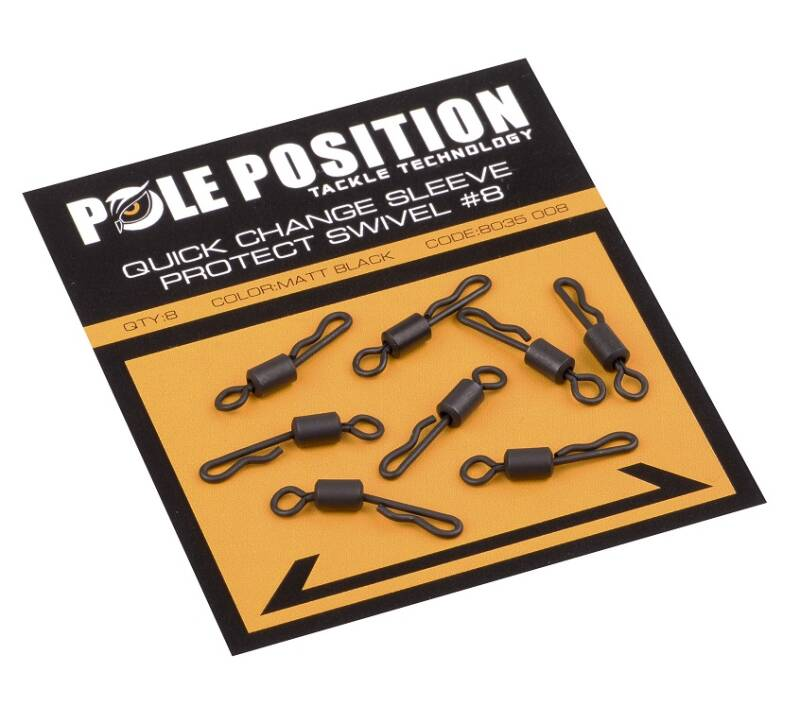 Pole Position Quick Change Sleeve Protect Swivel #8