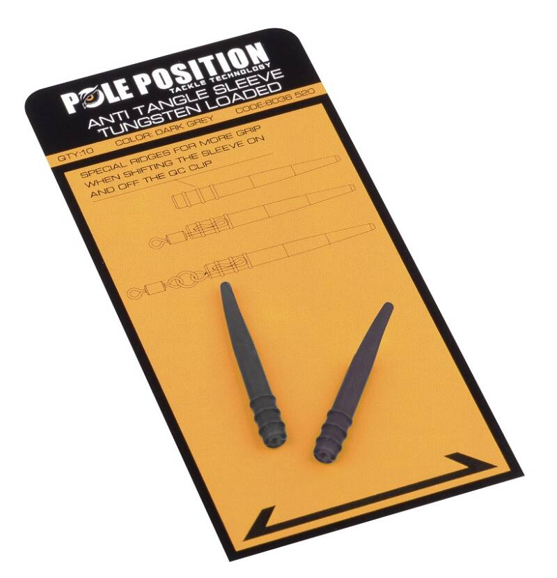Pole Position Anti Tangle sleeve Tungsten Loaded 10st