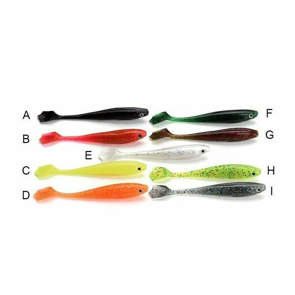 TackleboxCollection x RubberBaits Soft Wobble Shad (9,5cm)