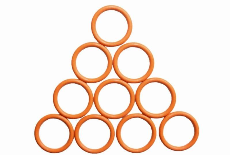 Dye O-ring 2x14mm BN90 Oranje