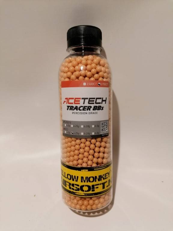 Acetech tracer 0,25gr red bbs 2700st