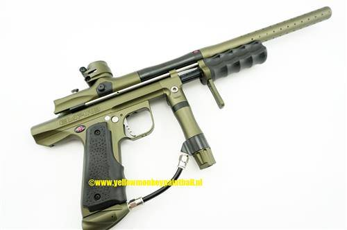Empire Sniper pump Olive