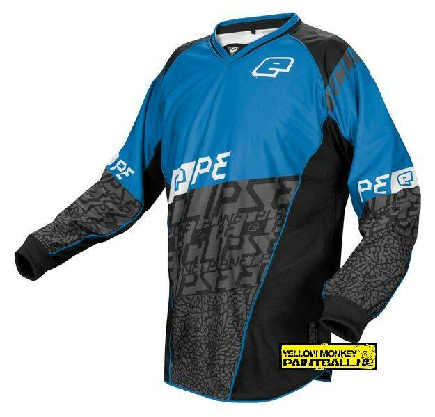 Planet eclipse jersey ice blue maat L