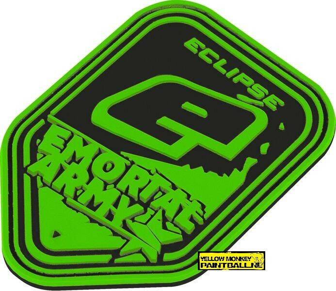 Patch Planet Eclipse, E-Mortal Squad black / green
