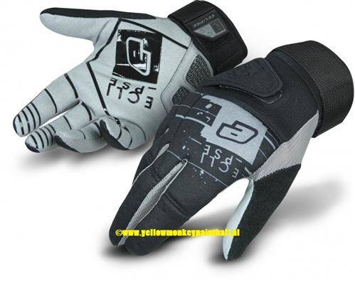Eclipse Full Finger Gloves Gen4 Hypno Black