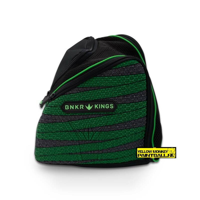 Bunkerkings supreme masker bag laces green