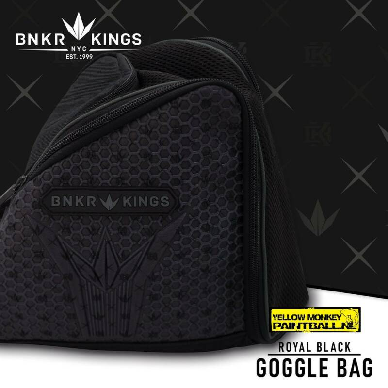 Bunker kings maskerbag royal black