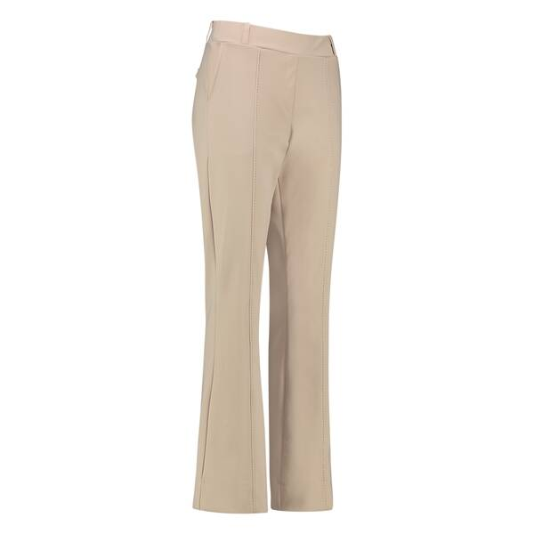 STUDIO ANNELOES FLAIR BONDED STITCH TROUSERS