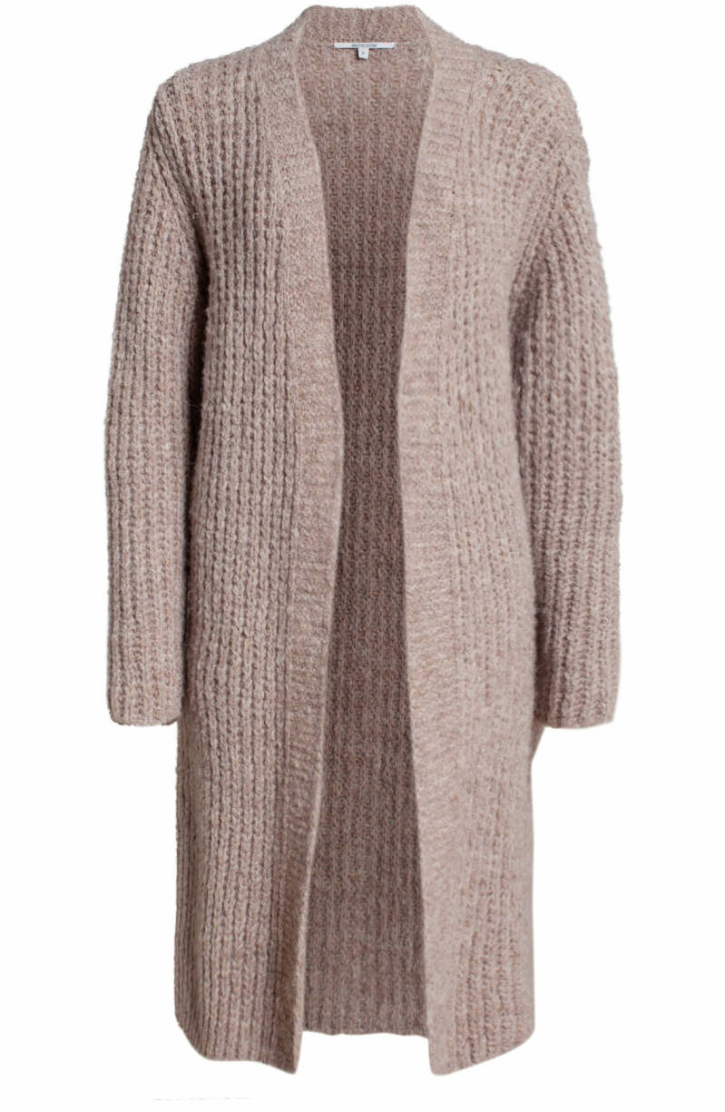 MOSCOW DAMES MILYO CARDIGAN 38-10-MILYO-TAUPE