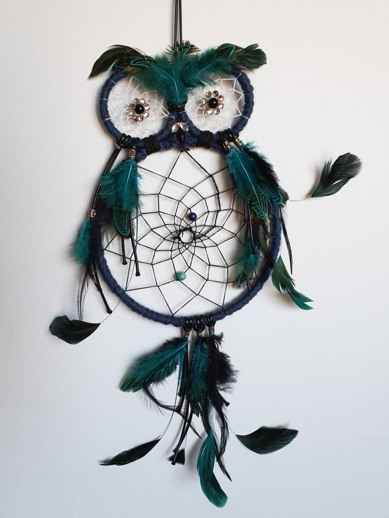 "Dromenvanger ""great owl blue"""