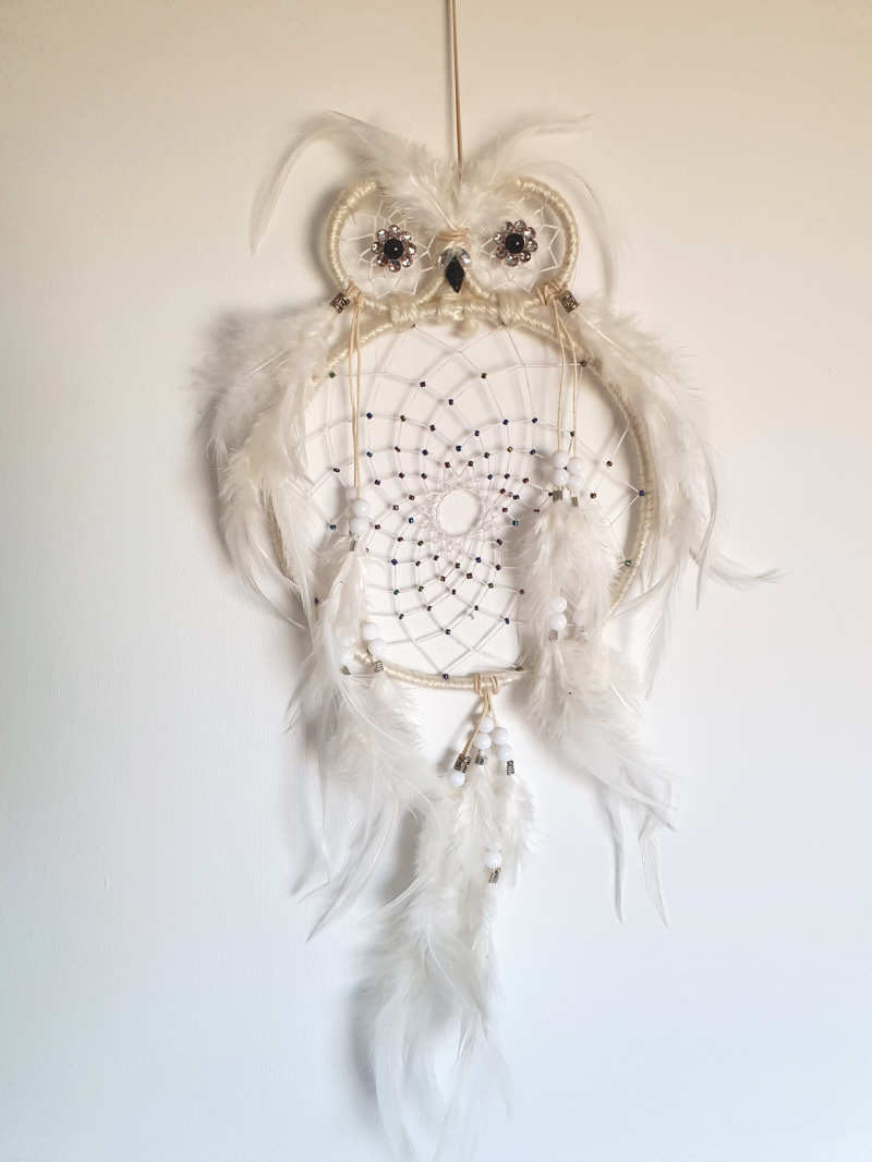 "Dromenvanger ""great owl white"""