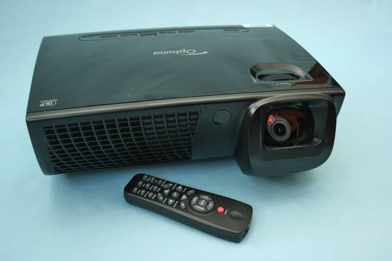 Optoma EX525ST Short-Throw DLP HD HDMI beamer + Garantie