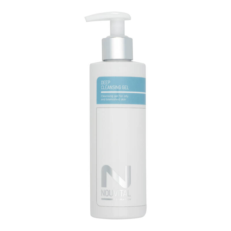 Deep Cleansing Gel - Nouvital Cosmetics