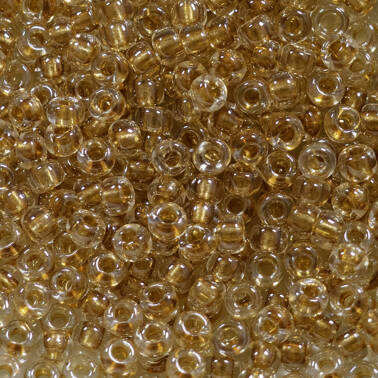8/ 00234 gold mettalic Crystal Lined