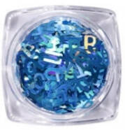 PNS Letters 11 Donker Blauw
