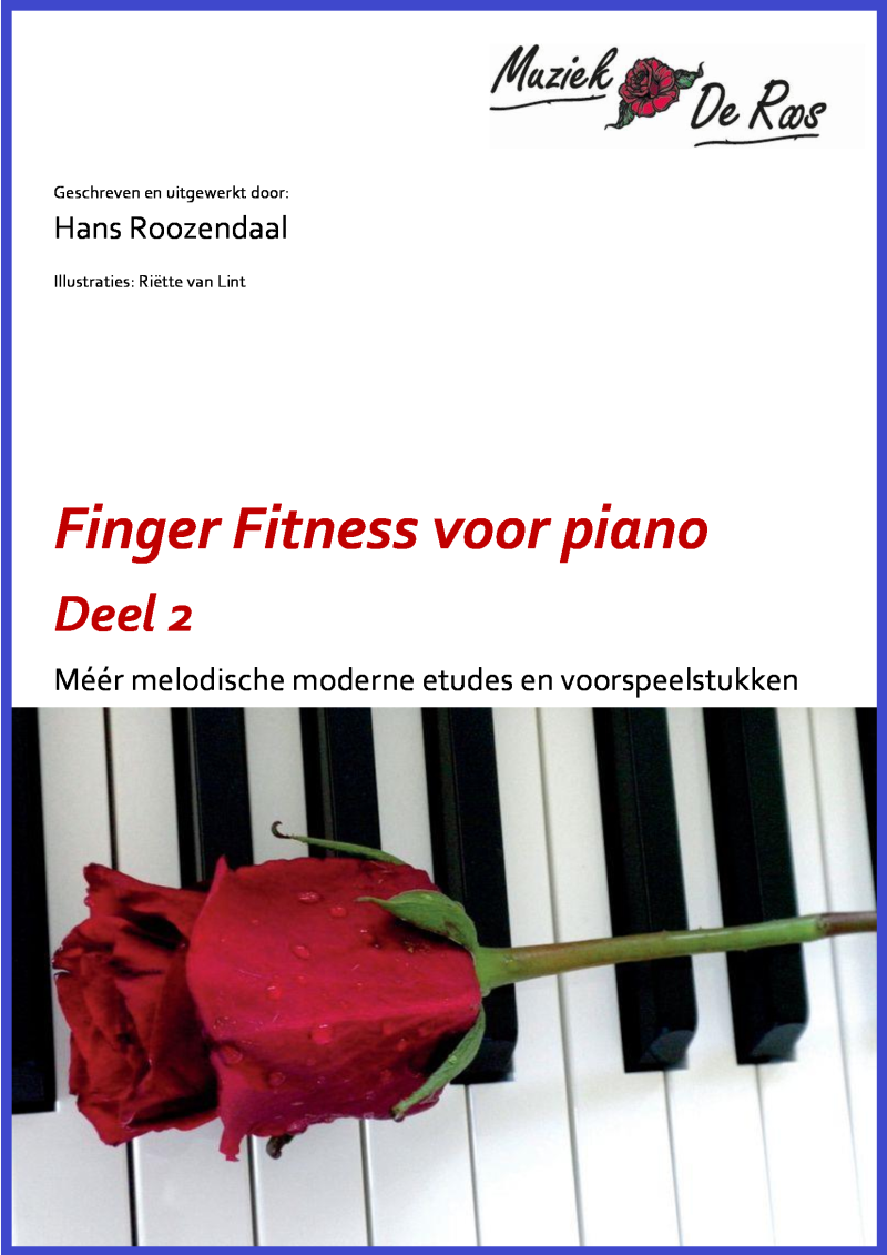 Speelboek piano Finger Fitness deel 2