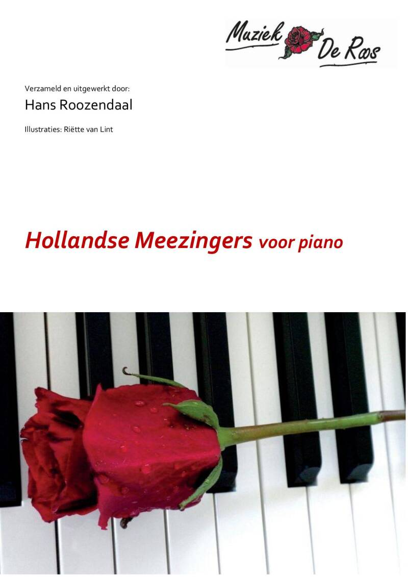 Hollandse Meezingers  Piano