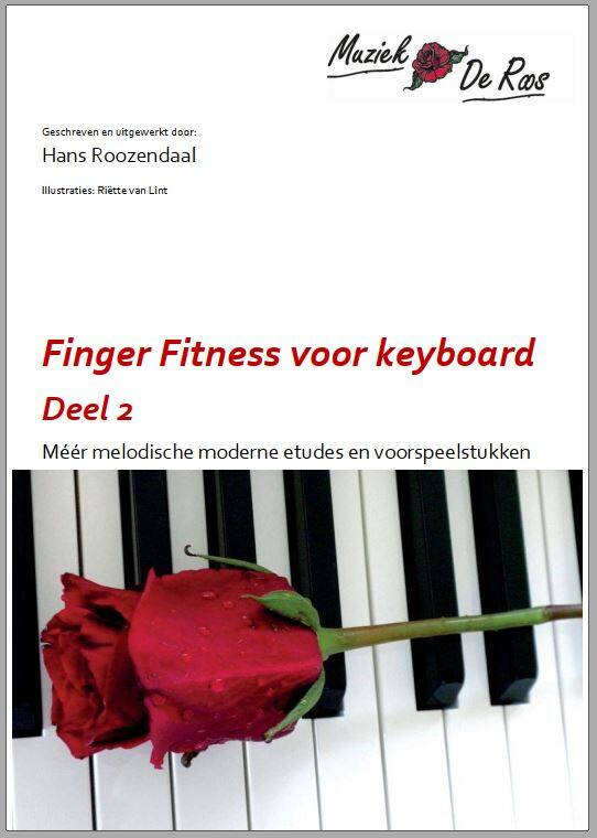 Speelboek keyboard Finger Fitness 2