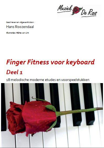 Speelboek keyboard Finger Fitness 1
