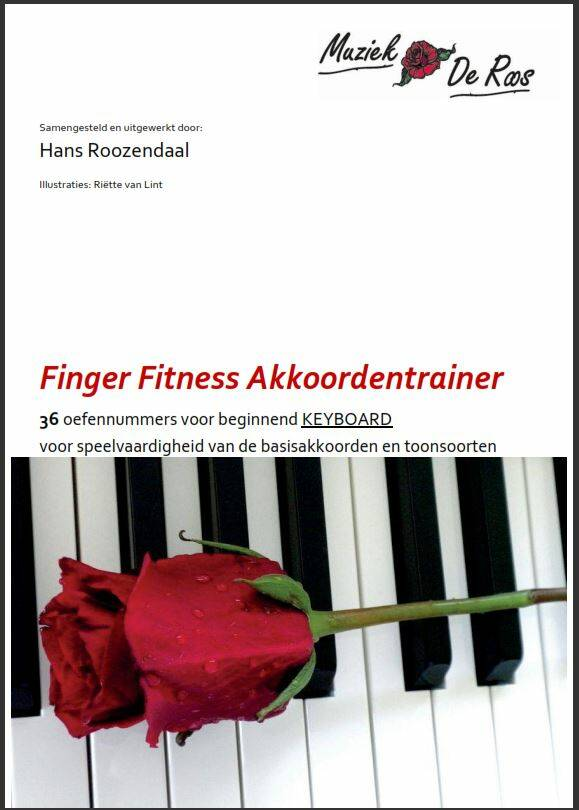 Finger Fitness Akkoordentrainer KEYBOARD